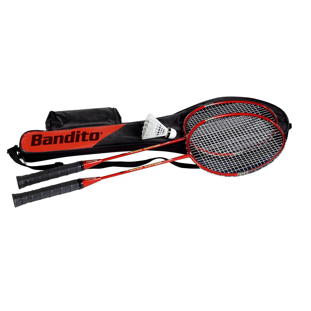 Bandito Speed Badminton Set Schläger Set mit Tasche