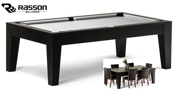 """9 ft Billardtisch neu mit Schieferplatte Billard Tisch /""""Black Pool/"""""""